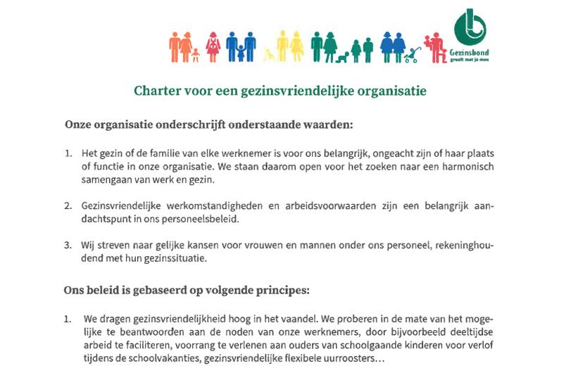 Charter Gezinsbond